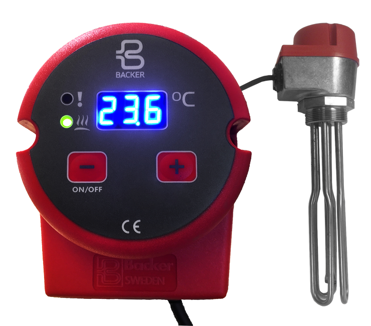 Screw plug immersion heater